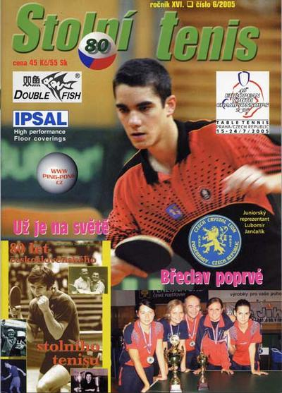 časopis Stolní tenis