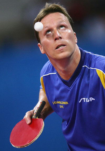 Jan-Ove Waldner/foto by Getty Images
