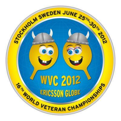 logo MS veteránů 2012 / copy by ITTF