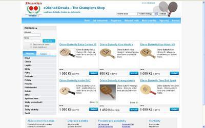 www.pincesobchod.cz - screen 25. března 2009