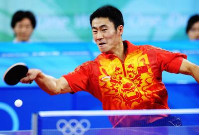 Wang Liqin/foto by Xinhua News Agency
